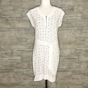 Max Cocos white anchor dress